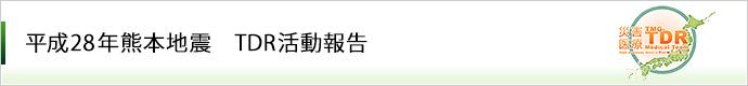 平成28年熊本地震 TDR活動報告