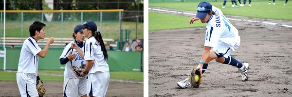 日本女子ソフトボールリーグ 第6節 京都大会 6月7日(日)